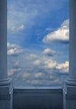 widok niebieski Zdjęcie Royalty Free