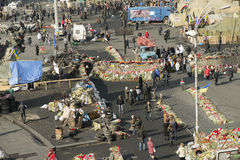 Widok niezależność Majdan Fotografia Stock
