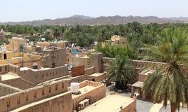 Widok Nizwa, Oman Zdjęcie Stock