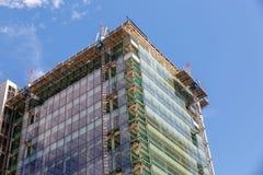 Widok nowożytny budynek w budowie Fotografia Royalty Free