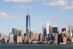 Widok Nowy Jork śródmieście obrazy royalty free