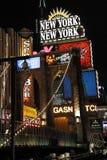Widok Nowy Jork Nowy Jork kurortu i kasyna teren fotografia stock