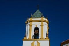 Widok Nuestra señora Del Socorro Kościelny wierza fotografia royalty free