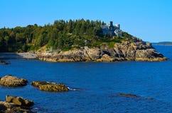 Widok od Acadia N. Parka Zdjęcia Royalty Free