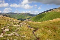 Widok od Alcock Tarn Zdjęcie Royalty Free