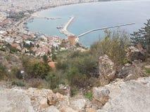 Widok od Antalya portu Fotografia Royalty Free