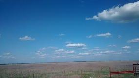 Widok od autostrady Obraz Royalty Free