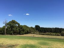 Widok od Błękitnego Jeziornego kija golfowego Zdjęcia Royalty Free