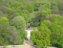 Widok od Berlińskiej zwycięstwo kolumny, Niemcy Obraz Royalty Free
