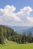 Widok od Blomberg Alps Zdjęcie Stock