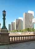 Widok od capitol budynku kroków Zdjęcia Stock