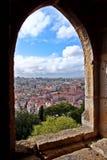 Widok od Castelo De São Jorge Fotografia Stock