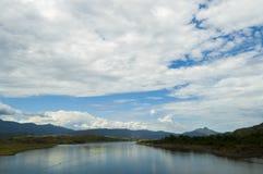 Widok od długiego mosta w Colombia Fotografia Royalty Free