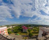 Widok od dachu dom Fotografia Stock