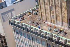 Widok od dachu miasto Obrazy Royalty Free