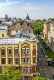 Widok od dachu St Isaac katedra w St Petersburg Fotografia Royalty Free