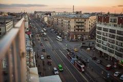 Widok od dachu w St Petersburg Zdjęcia Royalty Free
