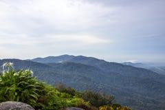 Widok od Datuk góry Zdjęcia Stock