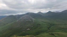 Widok od Diamon wzgórza, Irlandia zdjęcie wideo