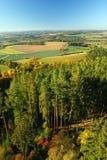 Widok od Drahousek punktu obserwacyjnego wierza Obraz Royalty Free