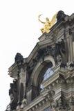 Widok od Drezdeńskiego, Niemcy Fotografia Stock