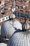 Widok od dzwonnicy wierza na San Marco kwadracie Zdjęcie Royalty Free