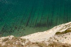 Widok od gór morze Zdjęcie Stock