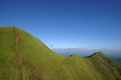 Widok od góra krajobrazu Zdjęcia Stock