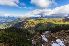 Widok od góry Obraz Royalty Free