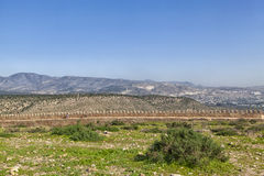 Widok od góry afrykański schronienia miasto Agadir Zdjęcia Stock