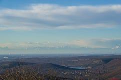 Widok od góry Ermada Obraz Royalty Free