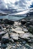 Widok od góry Glitterthind, Jotunheimen park narodowy Norwegia Zdjęcie Stock