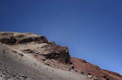 Widok od góry Rinjani, brać z rybiego oka obiektywem, góra Rinjani jest aktywnym wulkanem w Lombok, Indonezja zdjęcia stock