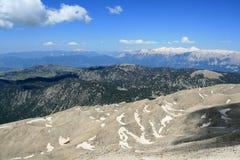 Widok od Góry Tahtali, Turcja Zdjęcia Stock