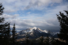 Widok od Gesia Szyja Tatry połysku gór Fotografia Stock