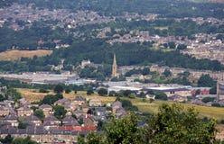 Widok od Grodowego Hil Huddersfield 13 Fotografia Royalty Free