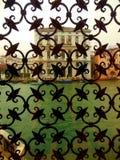 Widok od Guggenheim Palazzo Wenecja na deszczowym dniu zdjęcie stock