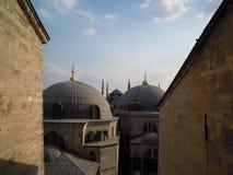 Widok od Hagia Sophia Obraz Royalty Free