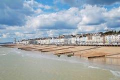 Widok od Hastings mola Obraz Royalty Free