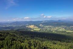 Widok od Hochwald Zdjęcia Royalty Free