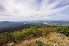 Widok od Hochwald Zdjęcia Stock