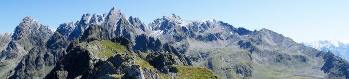 Widok od Hochzeiger, Tirol Obraz Royalty Free