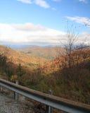 Widok od Hogpen Gap na Russell Brasstown Scenicznym Byway w Gruzja zdjęcie stock