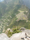 Widok Od Huayna Pichu Obraz Stock