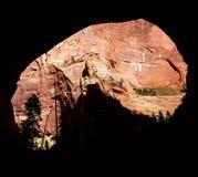 Widok od jamy Obrazy Stock