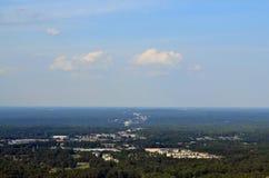 Widok od kamiennej góry Fotografia Stock