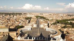 Widok od katedry St Peter Zdjęcie Royalty Free