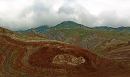 Widok od Khizi gór zdjęcie stock