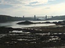 Widok od Kościelnej wyspy zdjęcia stock