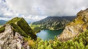 Widok od Kraba w Tatrzańskich górach, Polska, Europa zdjęcie stock